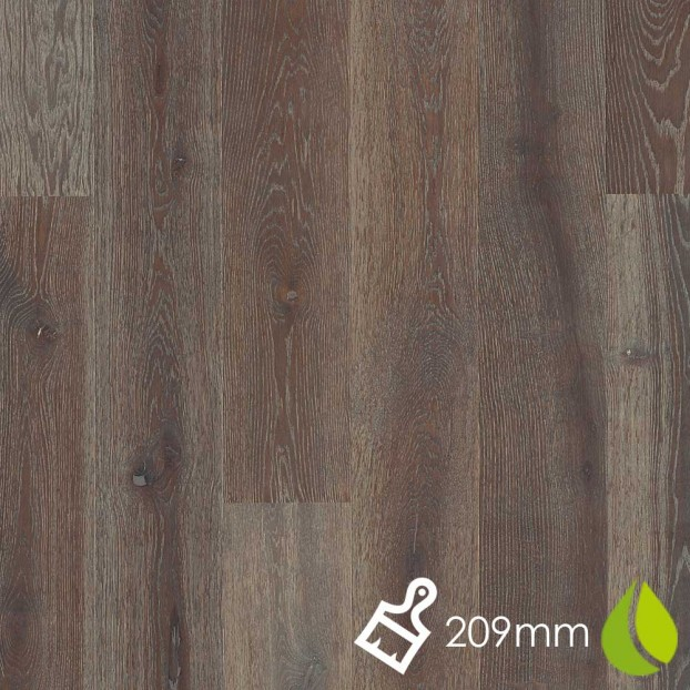 209mm Oak Graphite | Boen Stonewashed Castle | Live Natural class=