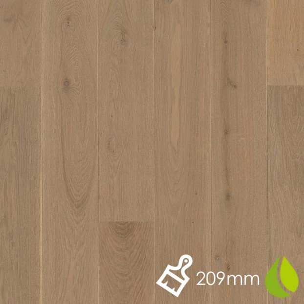 209mm Oak Sand | Boen Stonewashed Castle | Live Natural class=