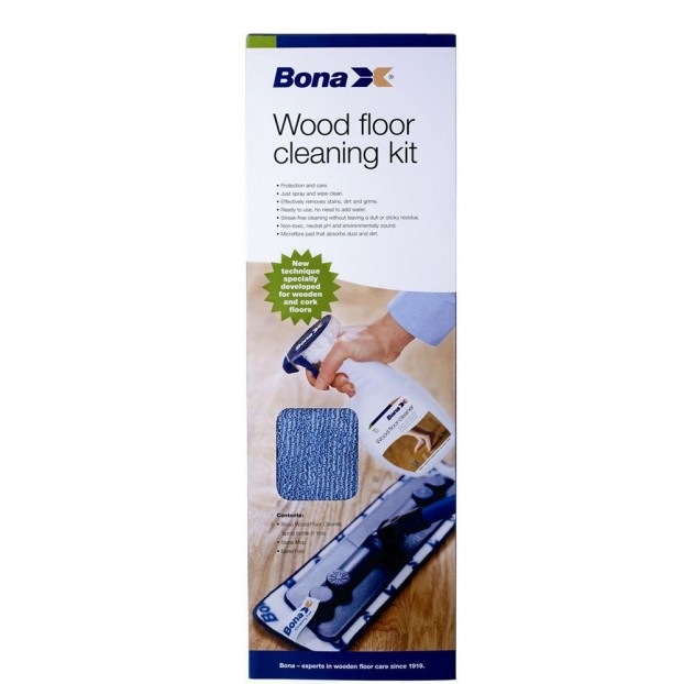 Bona Wood Floor Cleaning Kit | Bona Cleaning & Maintenance class=