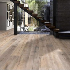 Chalet Oak 1-Strip Oil | Kahrs Supreme Boards | Smoked Brushed Natural Oil