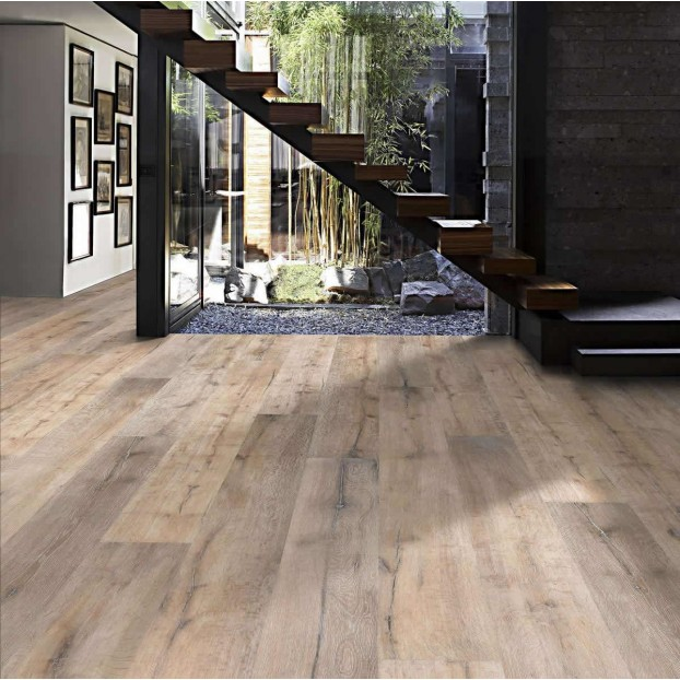 Chalet Oak 1-Strip Oil   Kahrs Supreme Boards   Smoked Brushed Natural Oil class=