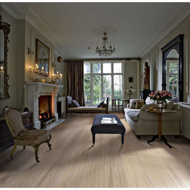 Manor Oak 1-Strip Oil | Kahrs Supreme Boards | Brushed Natural Oil class=