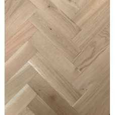Solid Oak Unfinished  Prime | Square edged | 16 x 70 x 230mm