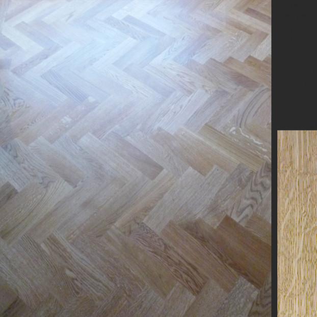 "(14"") 350x70x22mm Oak | Solid Oak Parquet | Prime Flooring class="