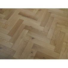 Engineered Herringbone 18/4x90x400mm Brushed and UV Oiled