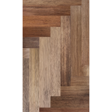 18mm x 120mm x RL Solid Merbau Parquet| Square edged | Natural | Unfinished