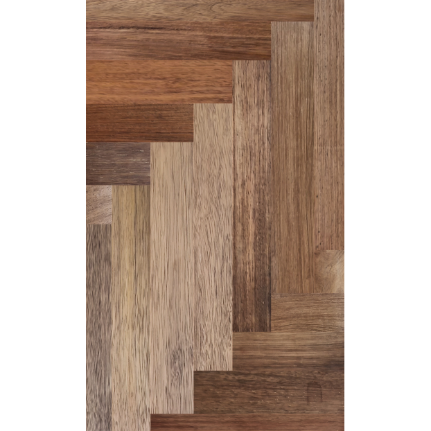 18mm x 120mm x RL Solid Merbau Parquet| Square edged | Natural | Unfinished class=