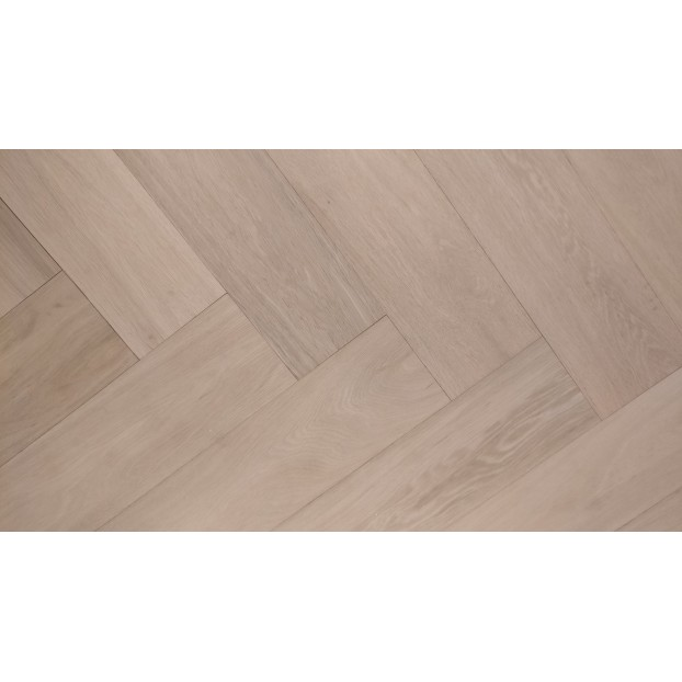 Engineered Herringbone 14/3x150x600mm Prime, Unfinished Oak class=