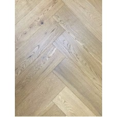 Engineered Herringbone 14/3x150x600mm Smoked Stain, Brushed and UV Oiled