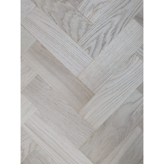 280x70x22mm Unfinished & Oak | Solid Oak Parquet | Rustic class=