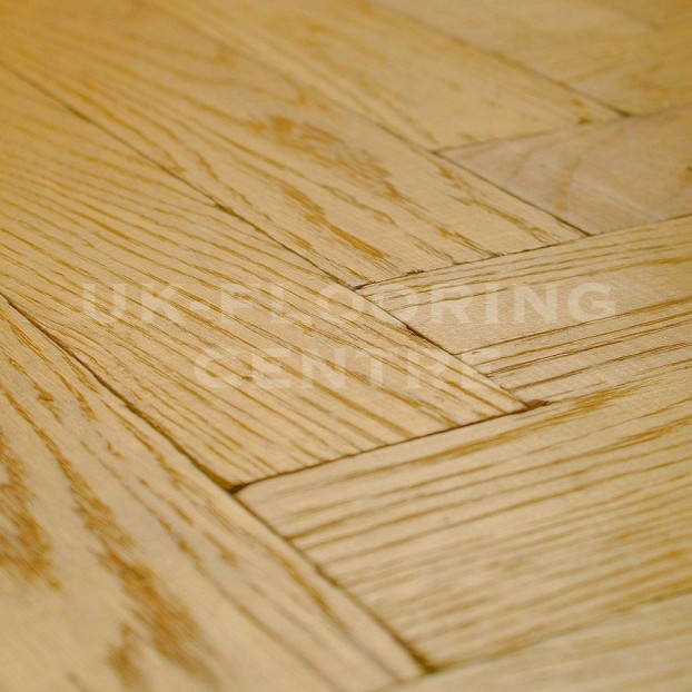 Clear Oiled Solid Chateau Parquet | Tumbled Oak class=