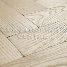 White Oiled Chateau Parquet | Tumbled Oak