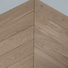 535x97x21mm Hungarian Style Oak | Solid Chevron Parquet | Character