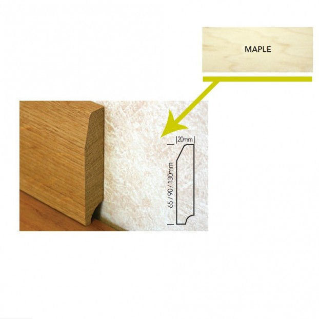 90mm Unfinished Pencil Round Skirting | Sectino Mouldings | 2.4m class=