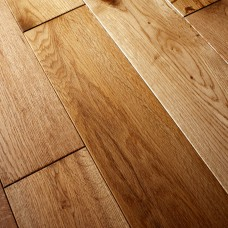 150mm Brushed & Oiled Solid Oak | 18mm Collection | Rustic
