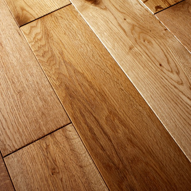 150mm Brushed & Oiled Solid Oak | 18mm Collection | Rustic class=