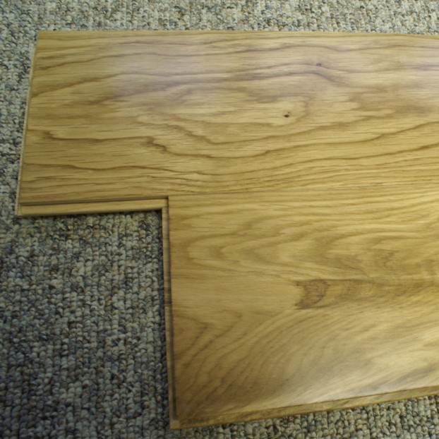 150mm Lacquered Solid Oak | 18mm Collection | Rustic class=