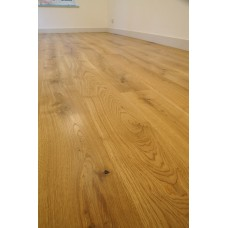 Solid French Oak Flooring | 22 x 140mm | Square Edged-Filled Knots-Character
