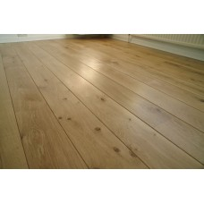 Solid French Oak Flooring | 22 x 140mm | Micro Bevelled-Filled Knots-Rustic