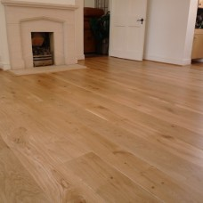 Solid French Oak Flooring | 22 x 140mm | Square Edge-Unfilled Knots-Rustic
