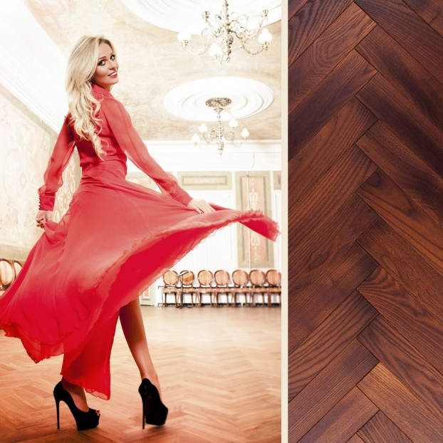 Foxtrot Thermo & Oiled Ash | Step In Time Parquet | Natural class=
