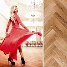 Rumba Wax Oiled Oak   Step In Time Parquet   Natural