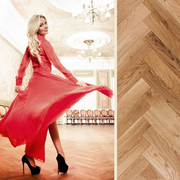 Rumba Wax Oiled Oak | Step In Time Parquet | Natural class=
