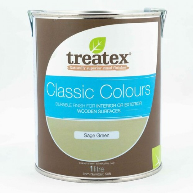 Treatex  Classic Colour Collection Sage Green | 0.5L class=