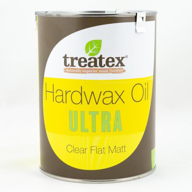 Treatex Hardwax Oil Ultra Clear Flat Matt | 1L class=