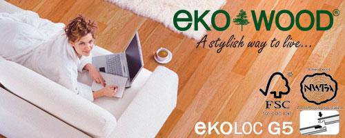 Ekowood Engineered Flooring with G5 Ekoloc